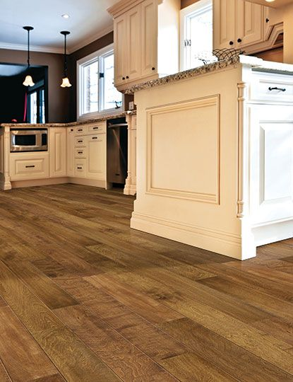 Kitchens And Bathrooms Are Top Usage Areas Of The Home And With Many New  Types Of Durable Hardwood Flooring Available Today, Homeowners Should  Consider ...