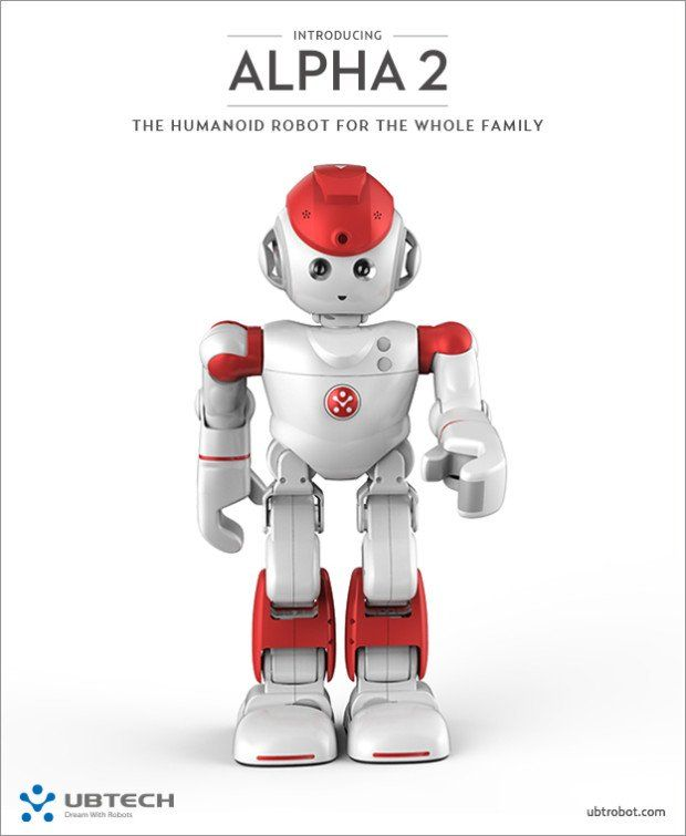 Alpha 2: Bring The First Humanoid Robot For Your Family - http://ttj.pw/1mDHEEE Alpha 2 is the world's very first humanoid robot who could be friends and new member of the whole family. This robot is intelligent like smartphone but it can walk and talk as well as learn and engage with the human.  [Click on Image Or Source on Top to See Full News]