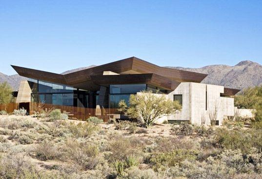 modern house desert