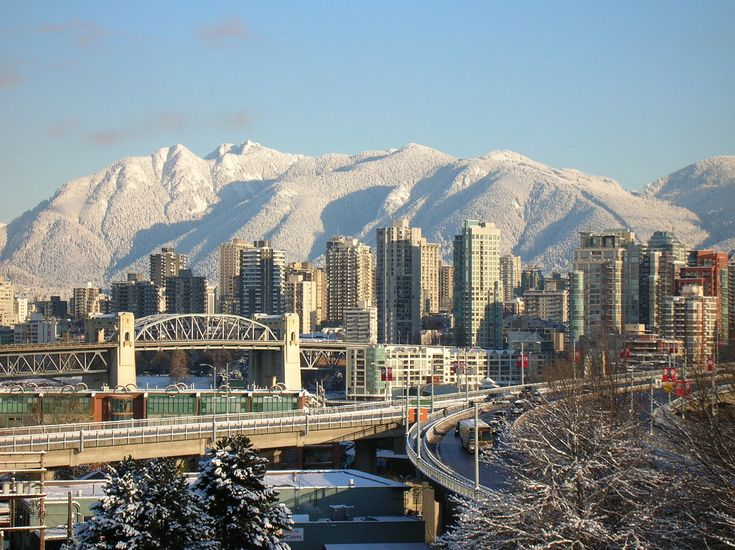 vancouver skyline #vancouver #canada