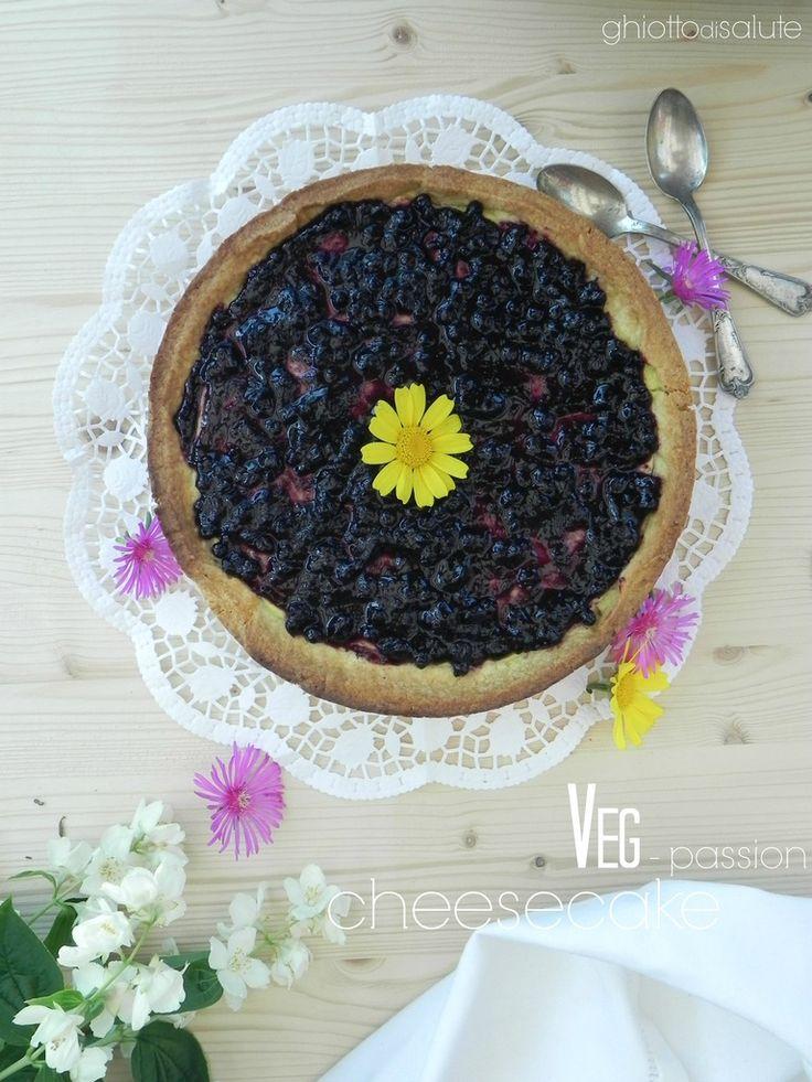 Veg-passion CheeseCake | Ghiotto di Salute