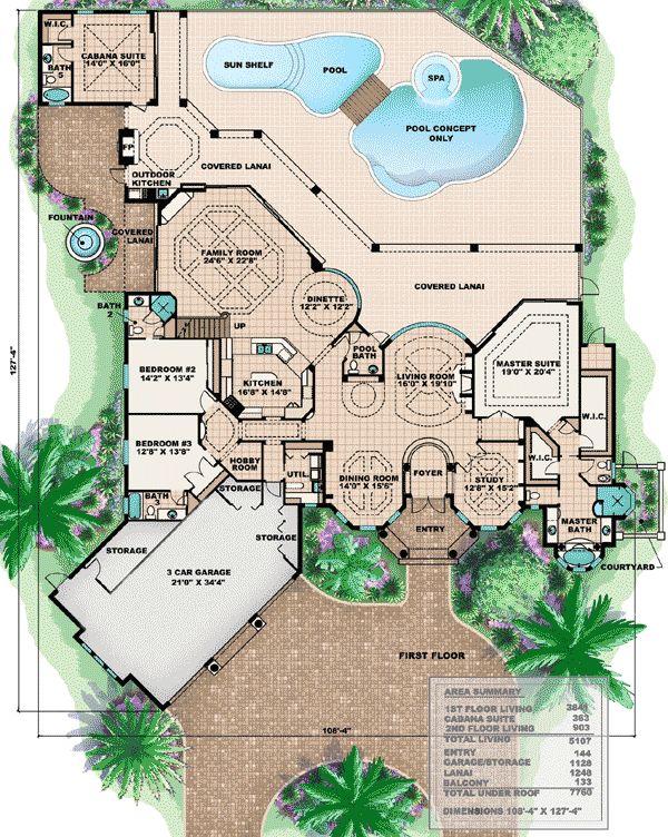 Lebron james house layout