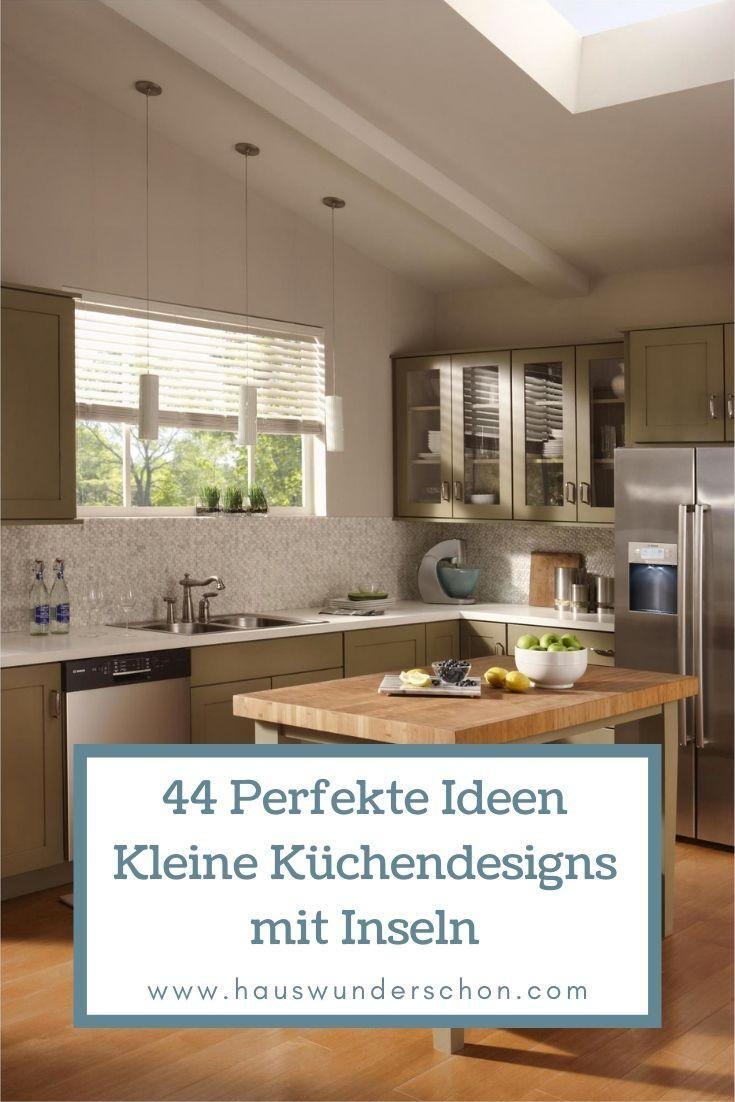 44 Perfekte Ideen Kleine Kuchendesigns Mit Inseln Die Sie Beeindrucken Werden Kuchen Design Kuchendesign Kuche Dekoration Ideen