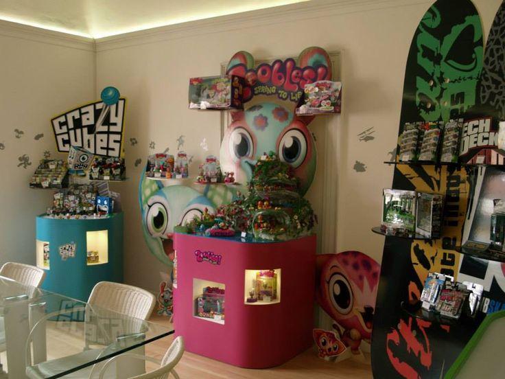 Spinmaster showroom //Pollodesign