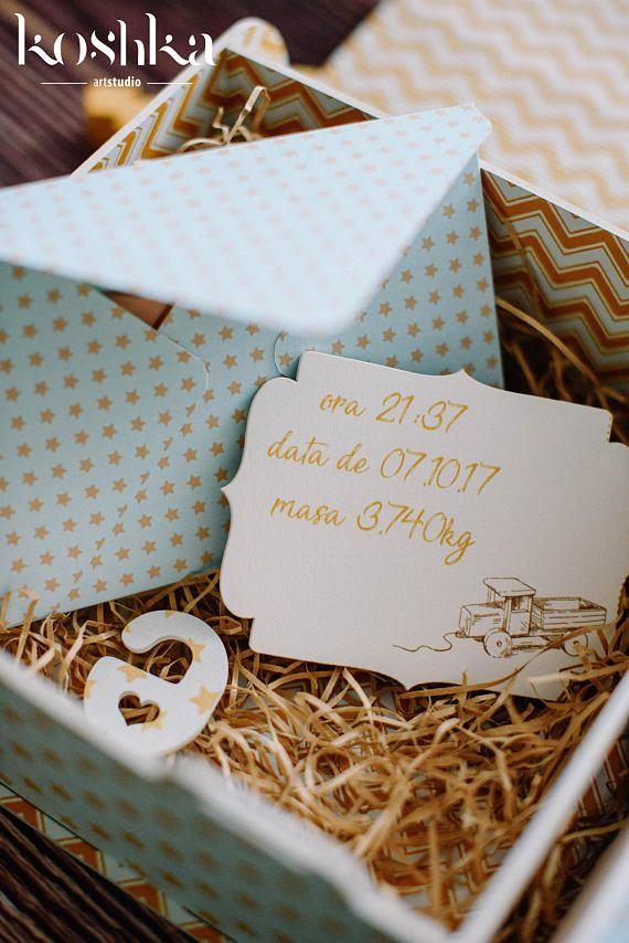 Memory Box, Baby Keepsake Box, Baby Shower Box, New Baby Box
