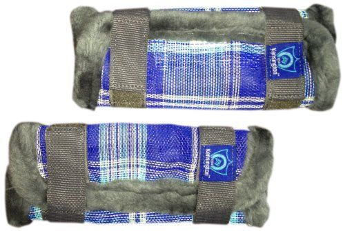 Kensington KPP Pony Fly Boots, Blue Ice Plaid, Pony by Kensington. $32.80. Prevents injury, insect bites, mud, sand, dirt & adds protection while shipping. Plastic stay under fleece to keep boots upright for maximum protection. Fly boots. 6 hook & loop closures. Textilene with fleece trim. Your Pony will be protected from head to hoof, once you complete your purchase with the Kensington Pony fly boots, made with US Textilene fabric. These boots are extremely sturdy and can be...