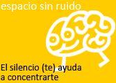Campaña de silencio de la Biblioteca Universidad Pública de Navarra. #shhh #bbtk #estamosdeexamenes