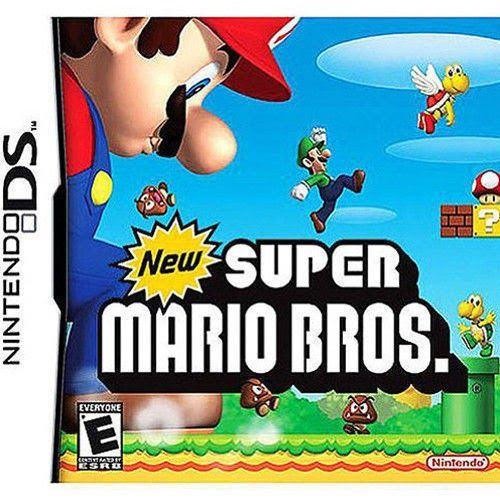 New Super Mario Bros Version GAME ONLY TEST GOOD WORKING Nintendo DS
