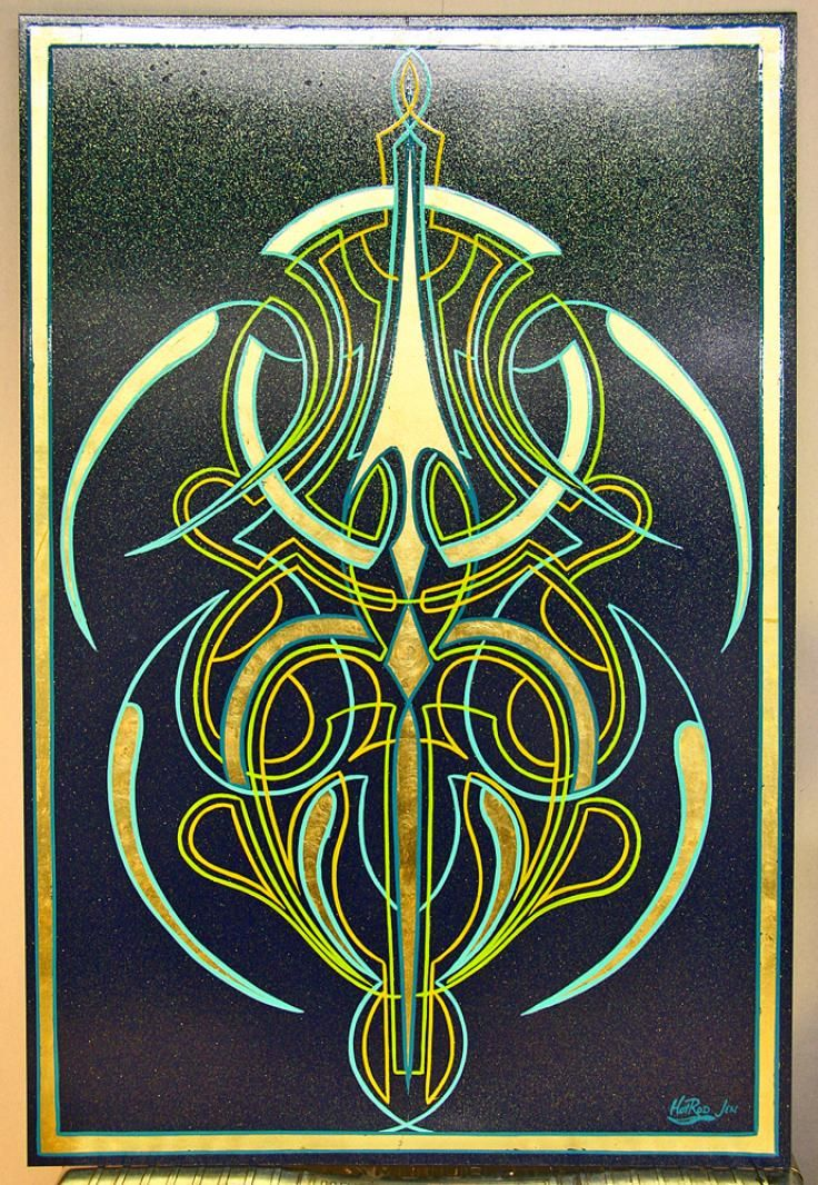 31 best images about Pinstriping by me on Pinterest ...