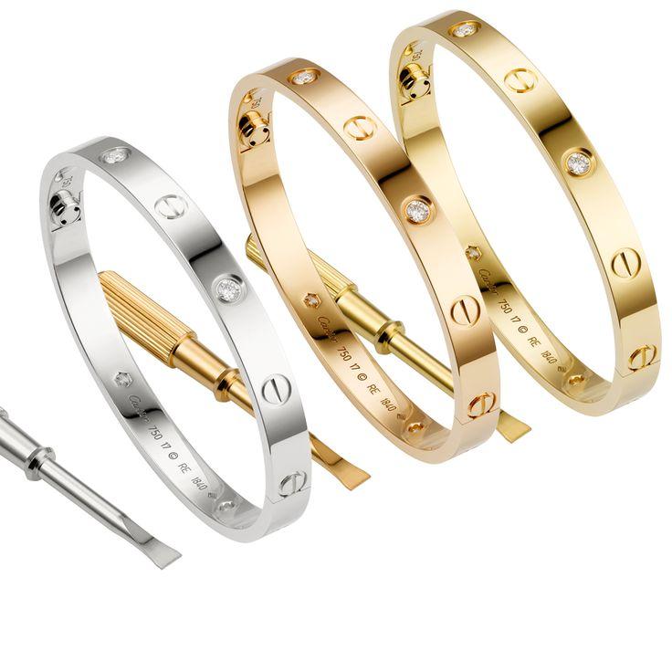 51 best cartier love bracelet images on Pinterest