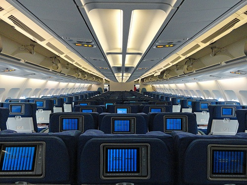 Cathay Pacific Regional Economy Class Cabin