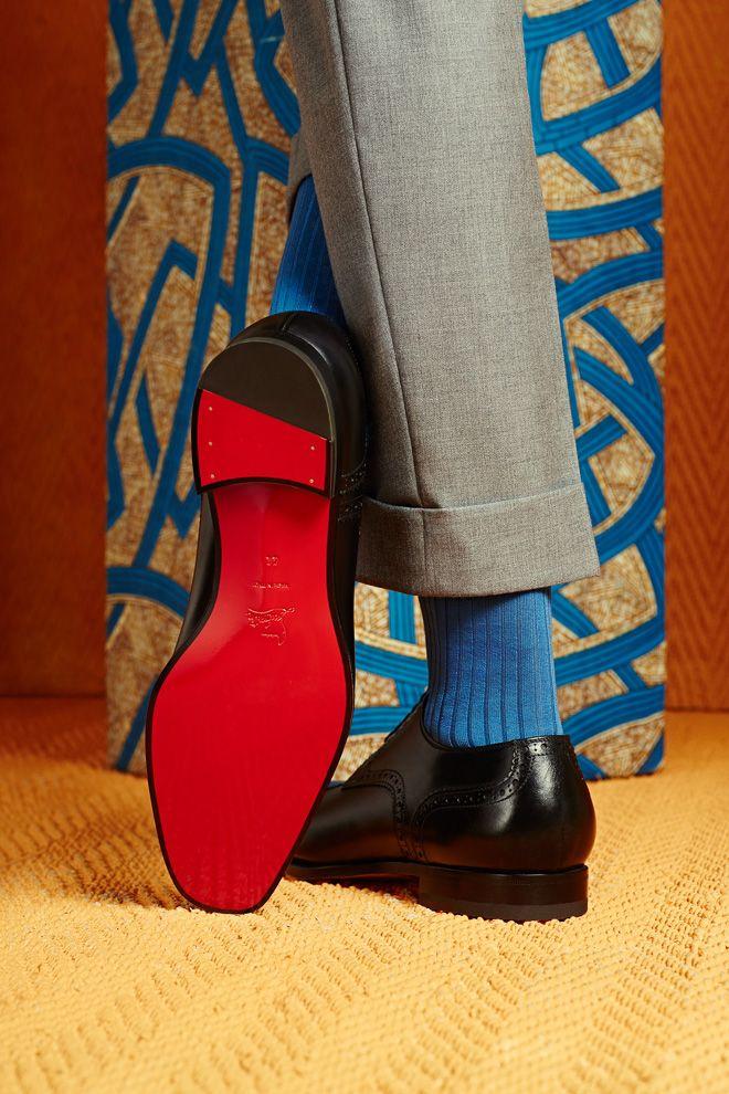 """画像: 11/12【クリスチャン ルブタンが男性向けクラシックモデル発表 """"サプール""""をイメージ】"""
