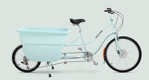 Madsen Cycle, 2012, blue