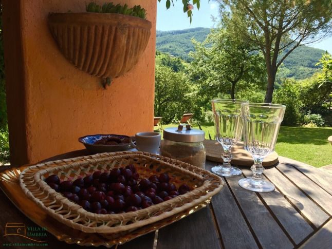 Visiting new apartments near Assisi Umbria