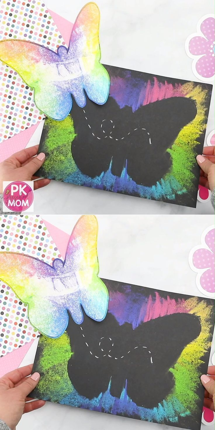 Butterfly Art Project for Kids   Spring Crafts & Activities   Spring
