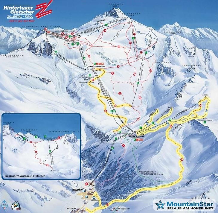 Ski Huts Skiregion Hintertuxer Gletscher Zillertal Tux