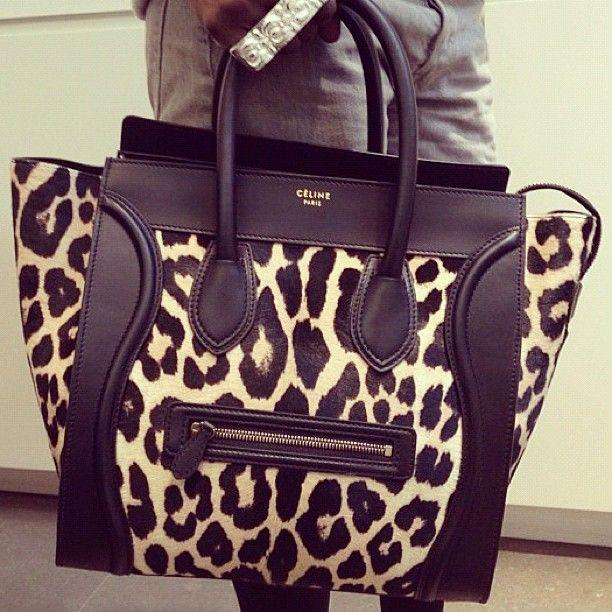 Celine Luggage Bag. Spring 2013.