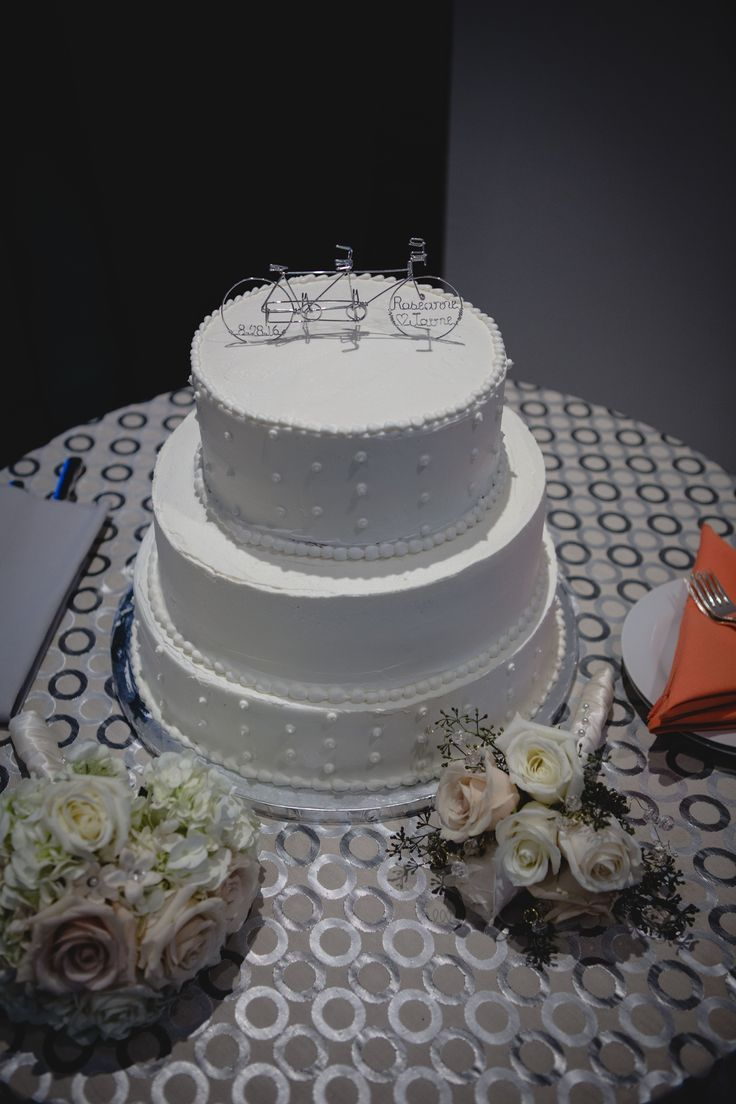 Personalized Tandem Bicycle Wedding Cake Topper Thank You Roseanne And Jaime For The Photo