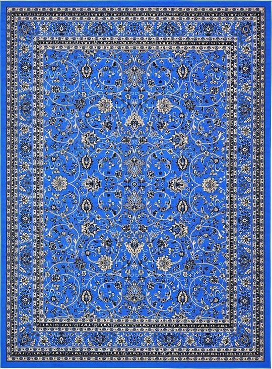 Southern Dark Blue Area Rug