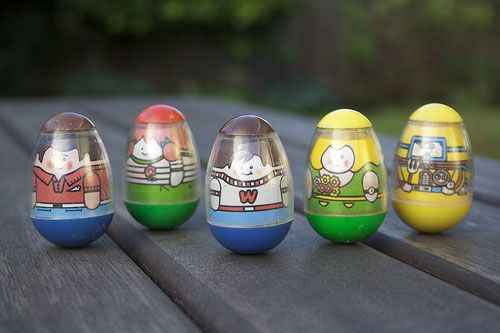 Weebles wobble, but they don't fall down!