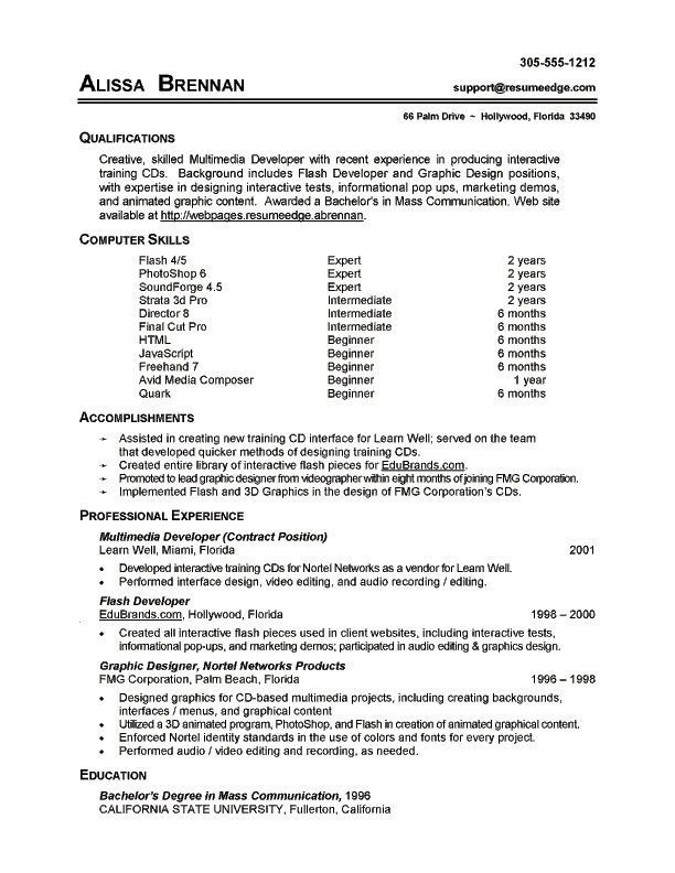 7 Resume Basic Computer Skills Examples Sample Resumes Exampleresume Computer Skills Resume Resume Skills Section Resume Skills