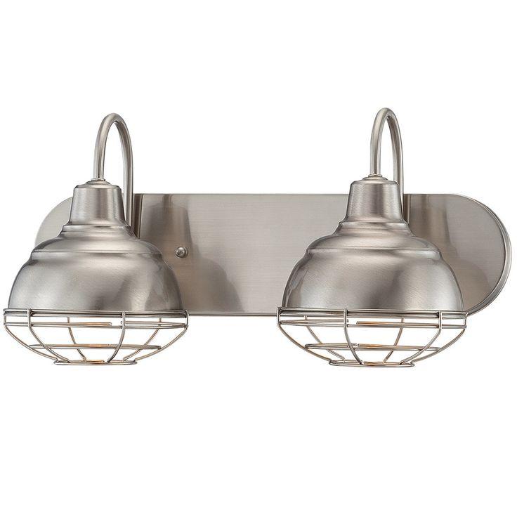 Industrial Cage 2 Light Vanity Light satin_nickel