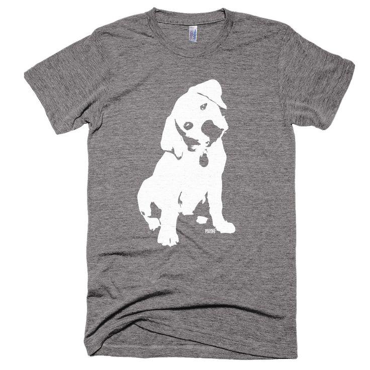 Labrador Retriever Unisex Tri Blend Tshirt, Vintage Feel Mens Shirt, Custom Labrador Owner Gift, Husband Birthday Gift, Fathers Day Gift by MONOFACESoADULT on Etsy