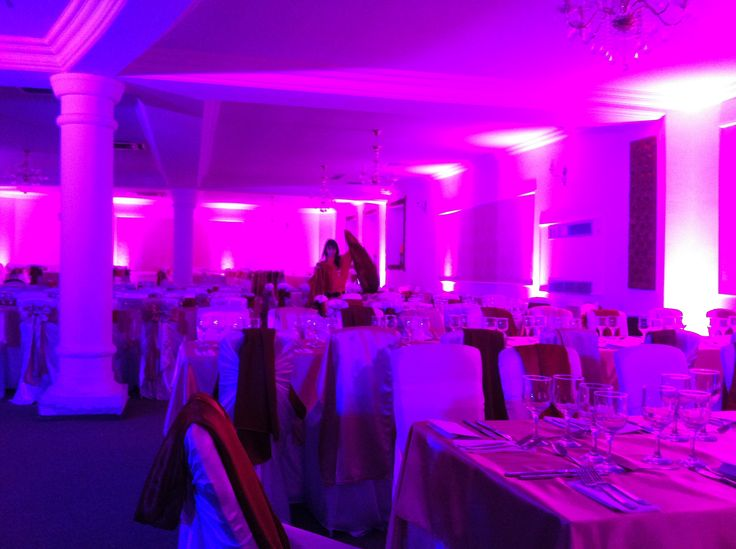 Iluminat arhitectural restaurant nunta cu www.directsound.ro