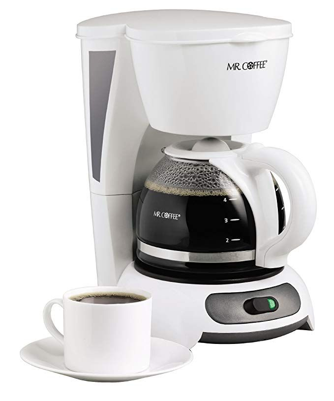 Mr Coffee 4 Cup Switch Coffee Maker White Review Mr Coffee 4 Cup Coffee Maker Mr Coffee Maker