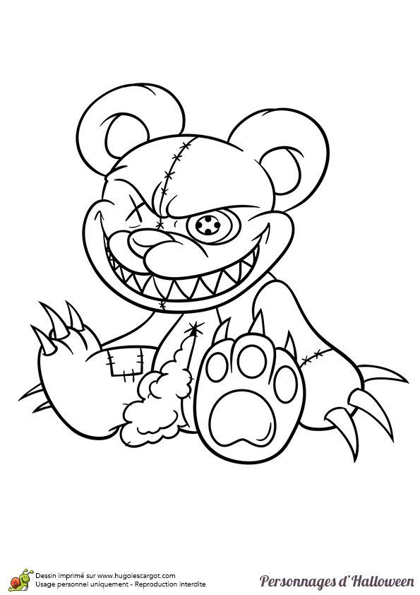 Les 25 meilleures id es de la cat gorie dessin ours en - Dessin de malefique ...