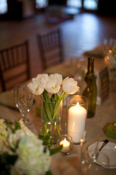 Classic Centerpieces Wedding Flowers Photos on WeddingWire