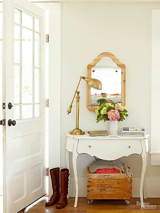 Old furniture is perfect for repurposing.