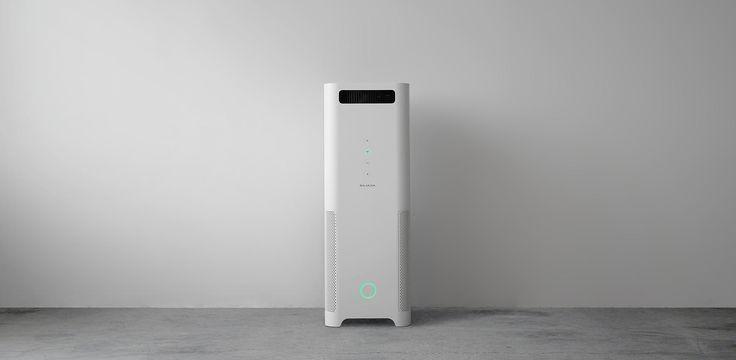 バルミューダ | AirEngine(エア エンジン)| これまでで、もっとも強力に空気を吸引する空気清浄機 Balmuda AirEngine #japanesedesign