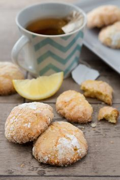 Biscotti morbidi limone e arancia: profumati e deliziosi. Perfetti per accompagnare tè e infusi. [Orange and lemon cookies]