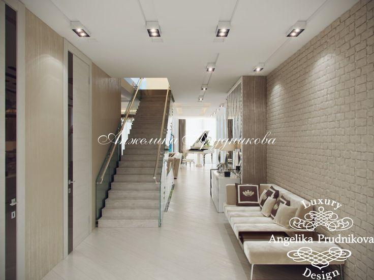 Дизайн Проект загородного дома на Рублевке в стиле Модерн - фото