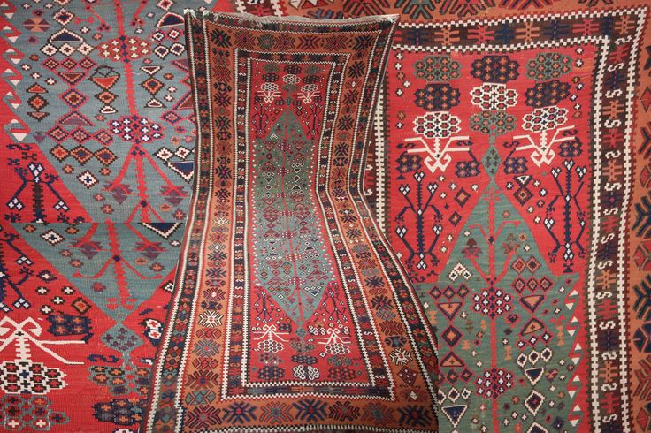 A #beautiful #persian #kilim in amazing #colours #design sourced @ #imperial #rugs website.