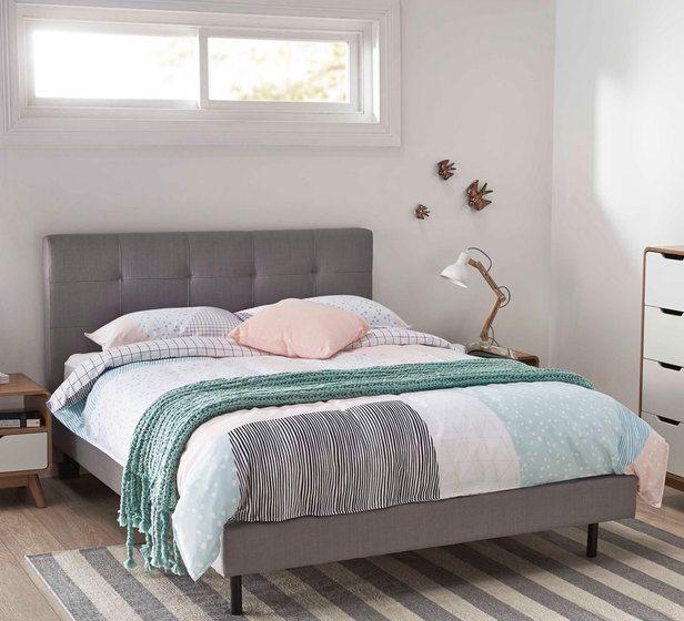 Modena Queen Bed For Guest Bedroom