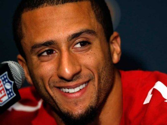 Colin Kaepernick!!!! San Francisco though!!!!!!!