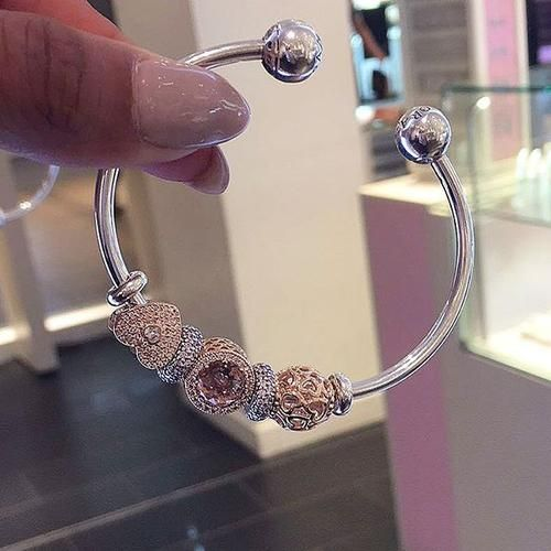Pandora Fairview has the Pandora Rose you need to warm up your bracelet this fall. - - - - - - - - - - - - - - - - - - - - - - - - - - - - - - - - - #pandora #pandorafairview  #pandorarose #bracelet #charms #charmbracelet #sterlingsilver #gifts #giftsforher #giftideas #giftsets | Content shared via Bazaarvoice Curations Gallery