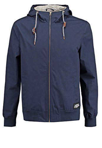 c27923802af01e YOURTURN Mens Bomber Jacket in Dark Blue - Light Summer H... amazon.co.uk