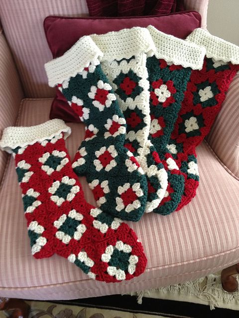 Granny's Christmas Stocking pattern by Catherine DePasquale