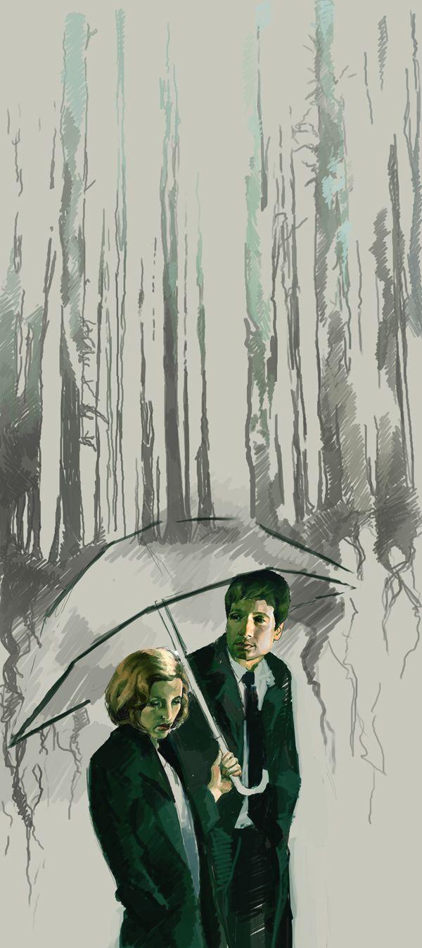 """X-Files"" by chunkymacaroni via deviantart"