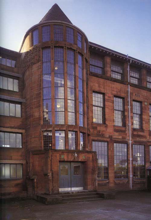 Scotland Street School, Charles Rennie Macintosh, 1906, Glasgow, Scotland