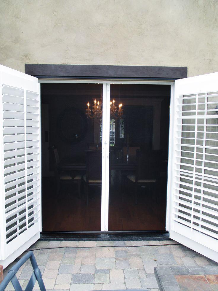 214 Best French Door Stowaway Retractable Screen Doors