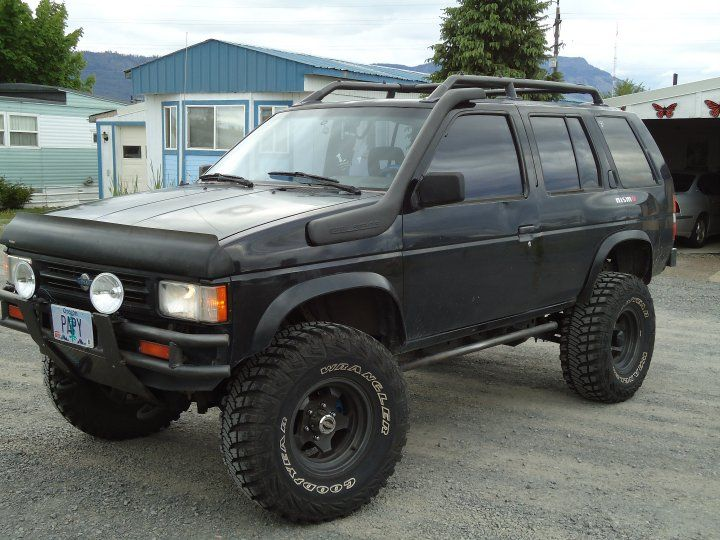 1990 nissan pathfinder 4 dr se 4wd suv picture exterior. Black Bedroom Furniture Sets. Home Design Ideas