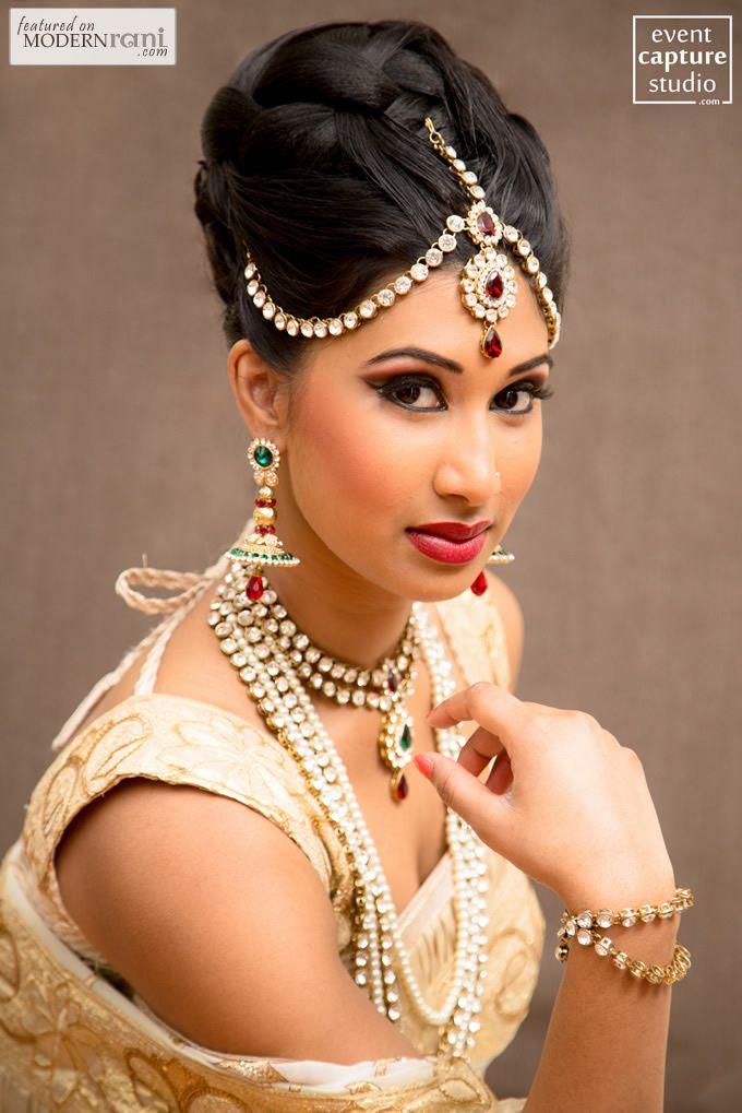 Sensational 1000 Images About Wedding Hair Desi On Pinterest Desi Bride Hairstyles For Women Draintrainus