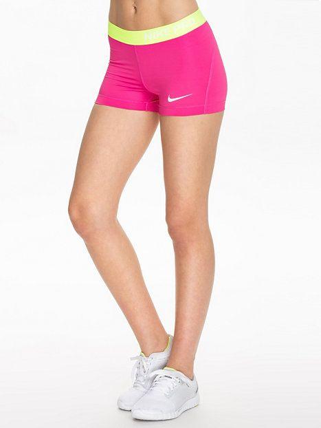 Nike Pro 3 Short - Nike - Hot Pink - Shorts - Sportkläder - Kvinna - Nelly.com