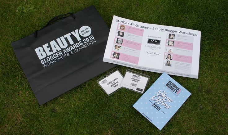 Olympia Beauty and the Beauty Blogger awards, a review of my day. Did you go?