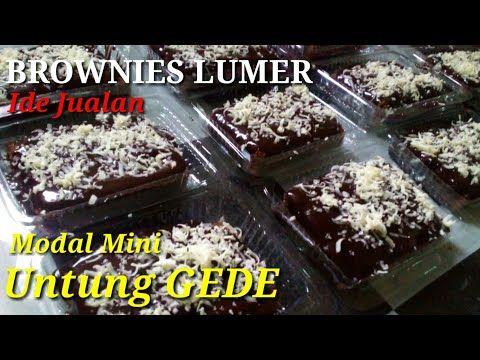 Ide Jualan Kekinian Brownies Coklat Lumer Youtube Food Receipes Brownie Cake Food