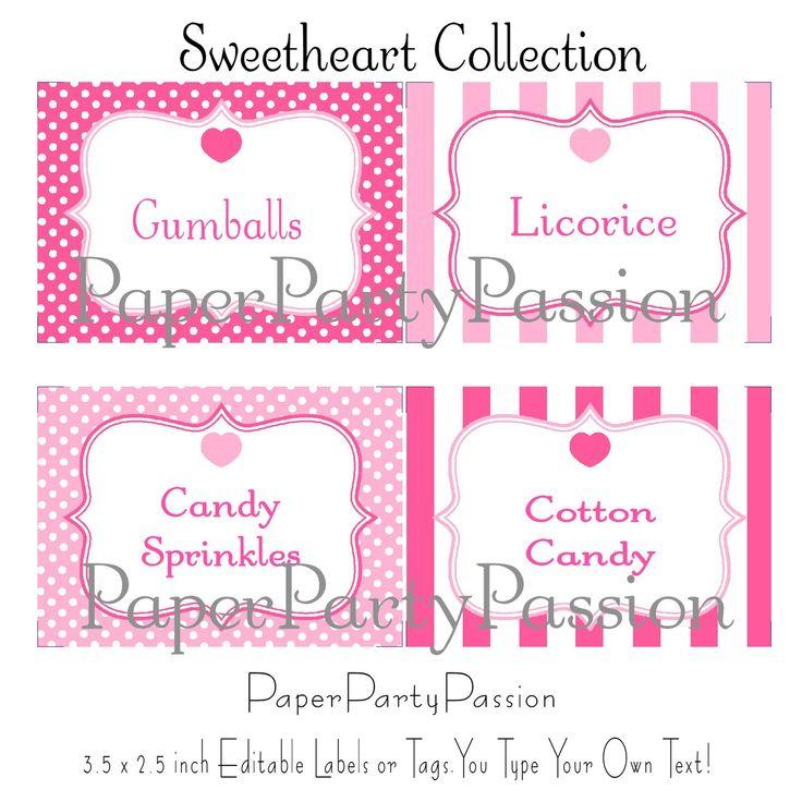 image regarding Free Printable Candy Buffet Signs referred to as Ideal Sweet Bar Symptoms Templates #WE48 Advancedmagebysara